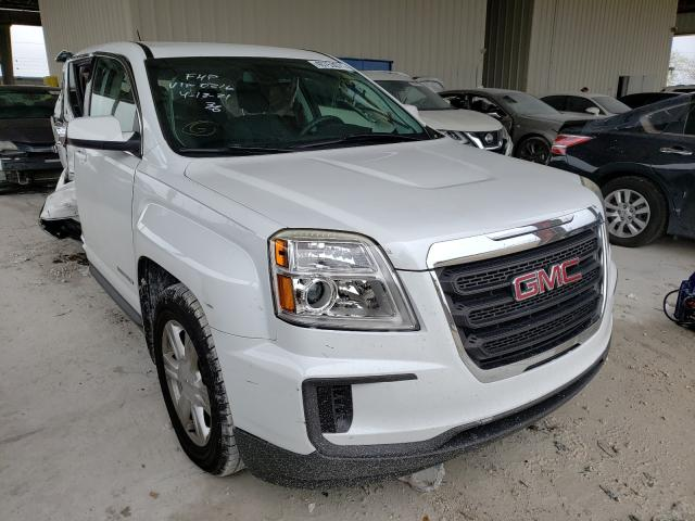 Salvage cars for sale from Copart Homestead, FL: 2016 GMC Terrain SL