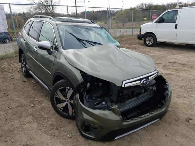 Salvage cars for sale from Copart Madison, WI: 2019 Subaru Forester T