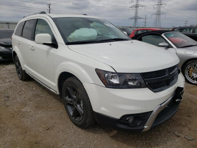 Vehiculos salvage en venta de Copart Elgin, IL: 2020 Dodge Journey CR