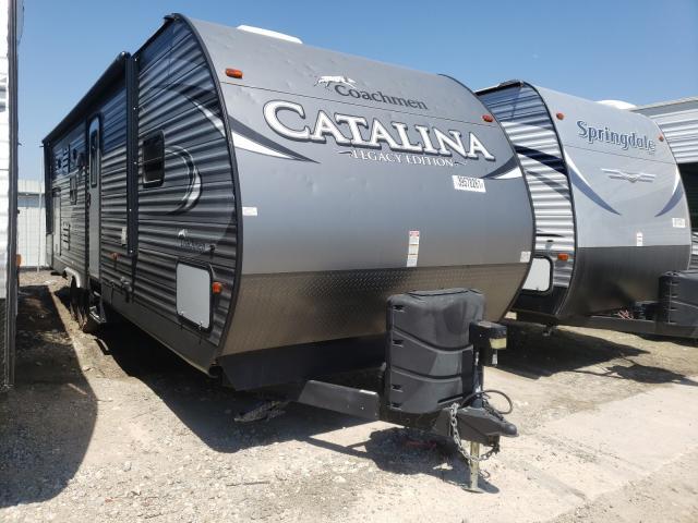 Coachmen Catalina salvage cars for sale: 2017 Coachmen Catalina