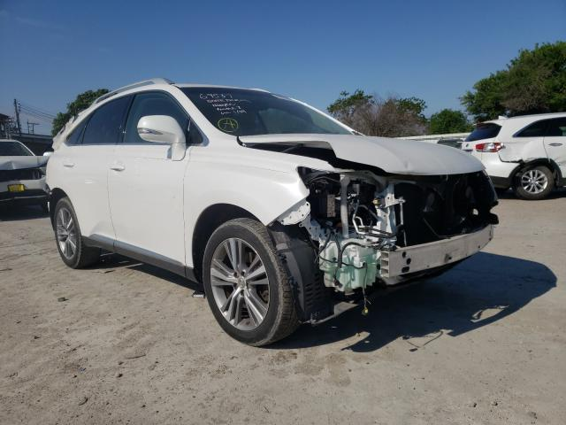 Salvage cars for sale from Copart Corpus Christi, TX: 2015 Lexus RX 350