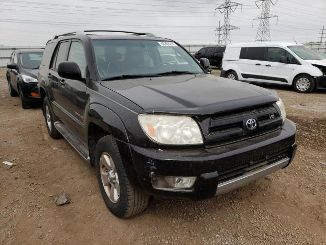 Salvage cars for sale from Copart Elgin, IL: 2003 Toyota 4runner LI