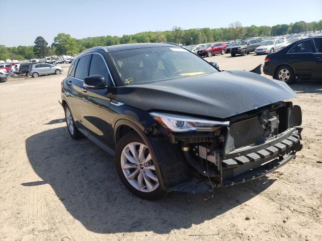 Salvage cars for sale from Copart Conway, AR: 2019 Infiniti QX50 Essen