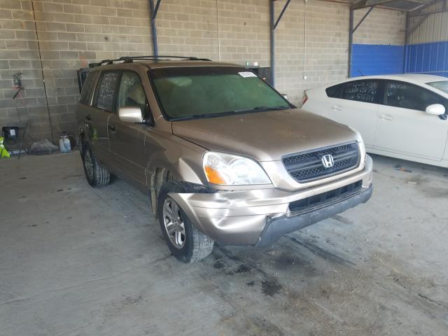 Salvage cars for sale from Copart Cartersville, GA: 2003 Honda Pilot EX