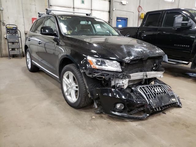 Audi salvage cars for sale: 2017 Audi Q5 Premium
