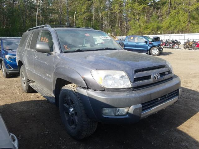Salvage cars for sale from Copart Lyman, ME: 2004 Toyota 4runner SR