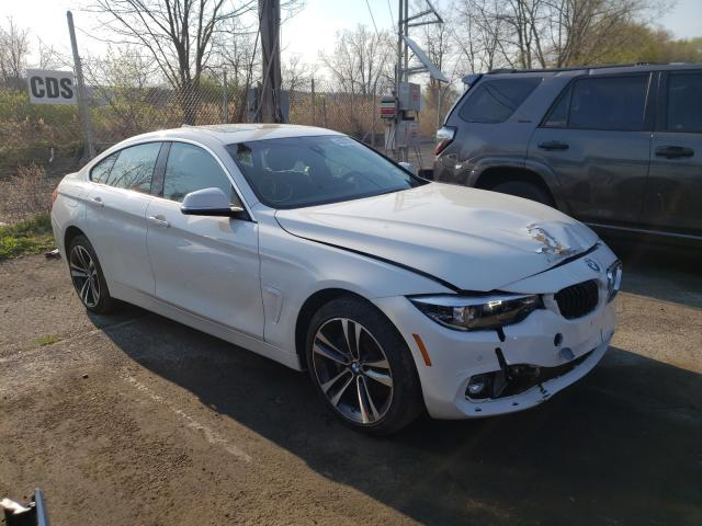 Salvage cars for sale from Copart Marlboro, NY: 2020 BMW 440XI Gran Coupe