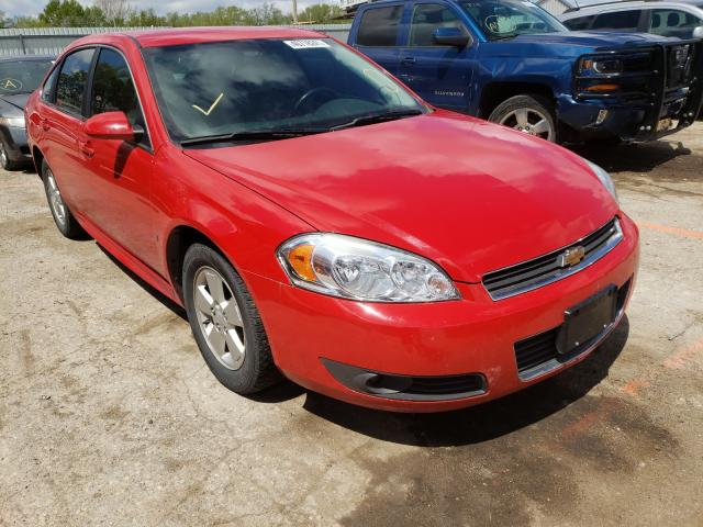 Salvage cars for sale from Copart Wichita, KS: 2010 Chevrolet Impala LT