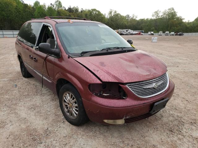 Salvage cars for sale from Copart Charles City, VA: 2001 Chrysler Town & Country