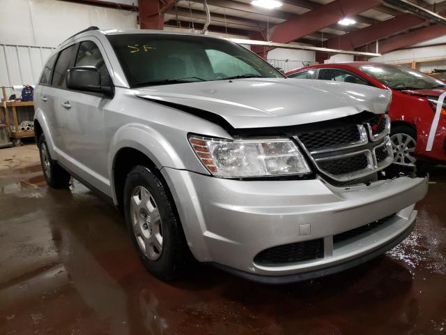 Salvage cars for sale from Copart Lansing, MI: 2011 Dodge Journey EX