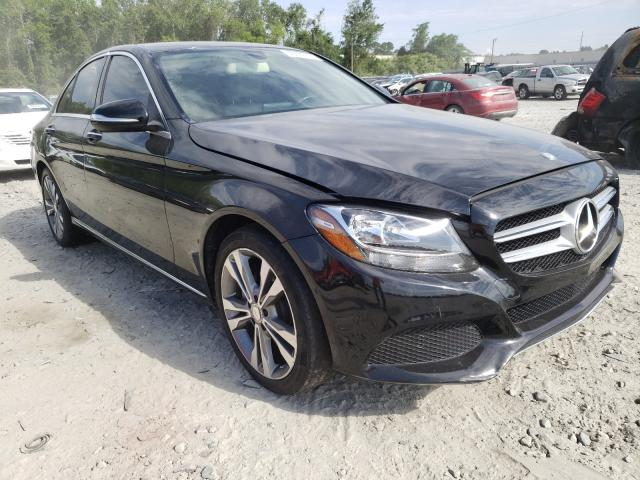 Salvage cars for sale from Copart Tifton, GA: 2015 Mercedes-Benz C300