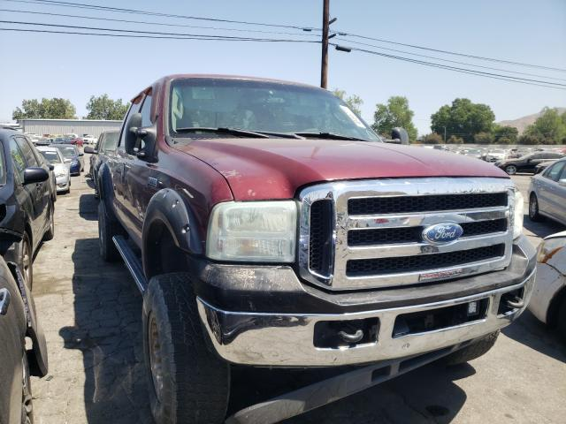 Salvage cars for sale from Copart Colton, CA: 2007 Ford F250 Super