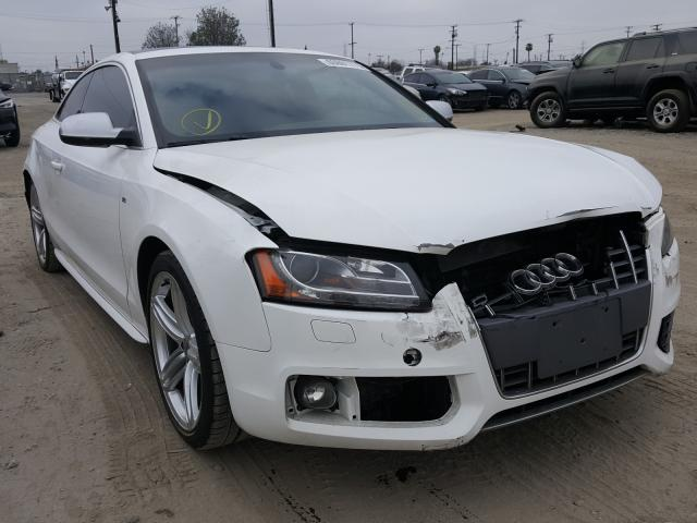 Salvage cars for sale from Copart Los Angeles, CA: 2010 Audi S5 Prestige