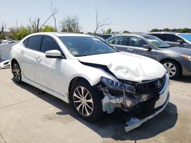Acura TLX salvage cars for sale: 2017 Acura TLX