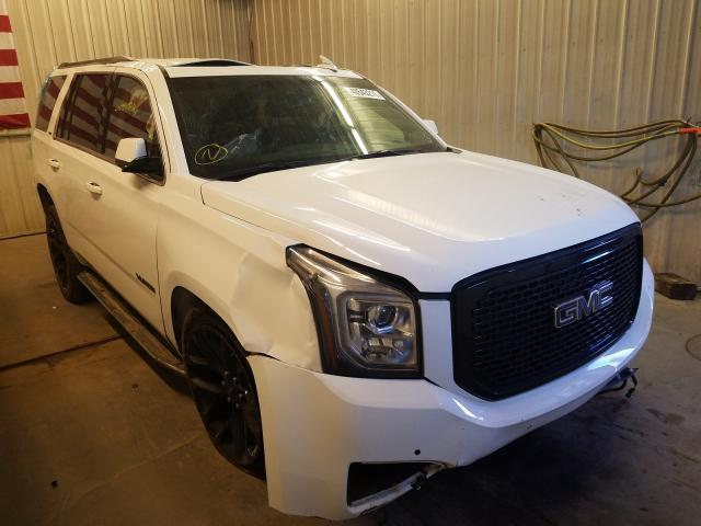 Salvage cars for sale from Copart Avon, MN: 2019 GMC Yukon SLT
