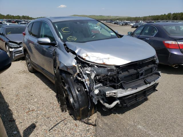 Salvage cars for sale from Copart Brookhaven, NY: 2019 Honda CR-V EX
