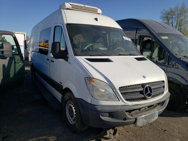 Salvage cars for sale from Copart Woodburn, OR: 2011 Mercedes-Benz Sprinter 2