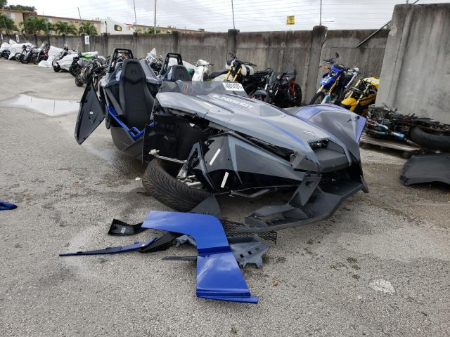 Salvage cars for sale from Copart Opa Locka, FL: 2021 Polaris Slingshot