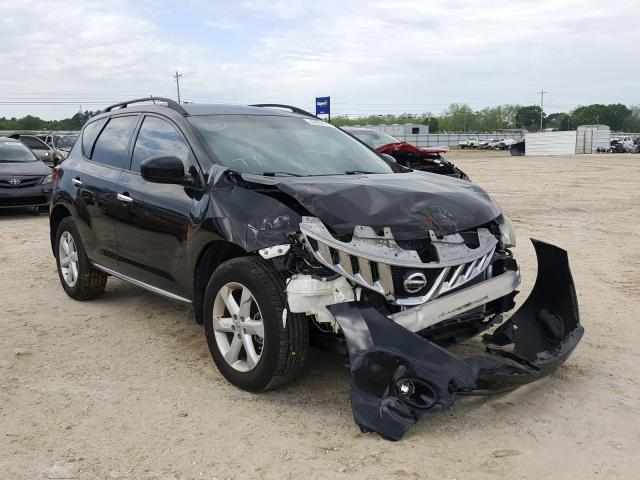 Salvage cars for sale from Copart Newton, AL: 2009 Nissan Murano S