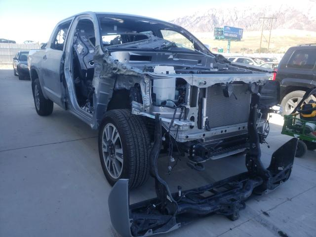 Salvage cars for sale from Copart Farr West, UT: 2020 Toyota Tundra CRE