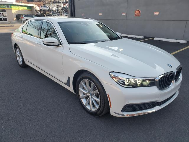 Salvage cars for sale from Copart Brookhaven, NY: 2019 BMW 740 XI