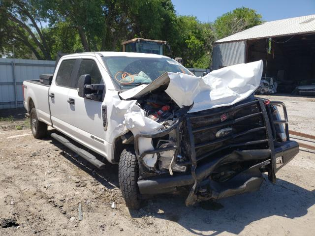 Salvage cars for sale from Copart Corpus Christi, TX: 2019 Ford F250 Super