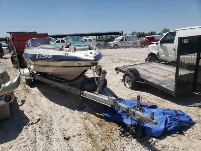 Boat salvage cars for sale: 1994 Boat W Trailer