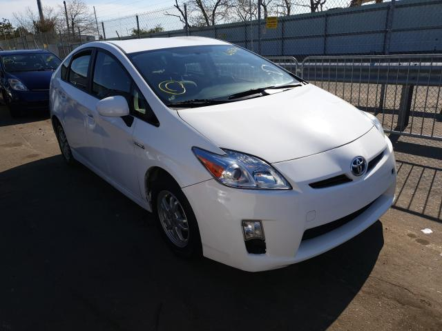 Salvage cars for sale from Copart Brookhaven, NY: 2010 Toyota Prius