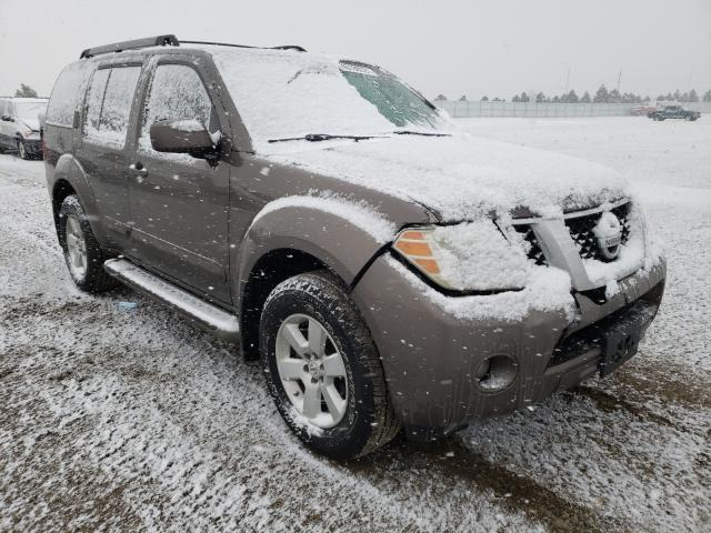 Salvage cars for sale from Copart Bismarck, ND: 2008 Nissan Pathfinder