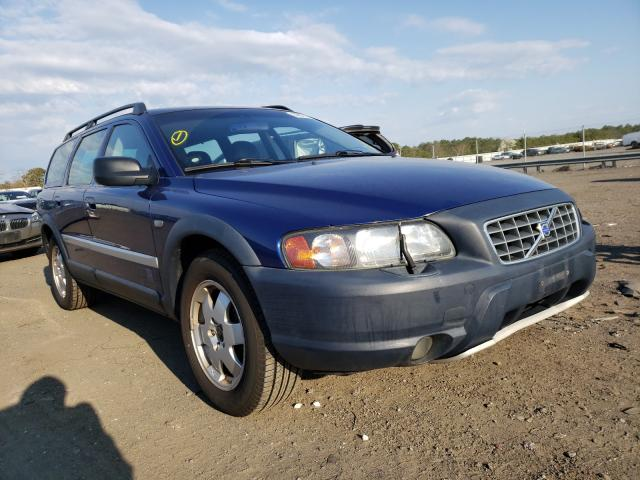 Salvage cars for sale from Copart Brookhaven, NY: 2002 Volvo XC70