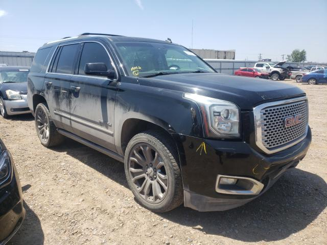 Salvage cars for sale from Copart Mercedes, TX: 2015 GMC Yukon Dena
