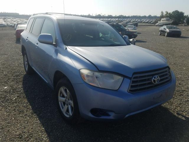 Salvage cars for sale from Copart Antelope, CA: 2008 Toyota Highlander