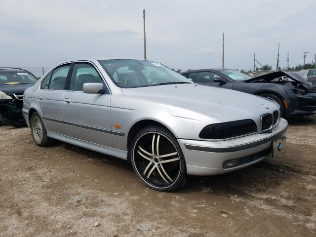 Salvage cars for sale from Copart West Palm Beach, FL: 2000 BMW 540 I Automatic