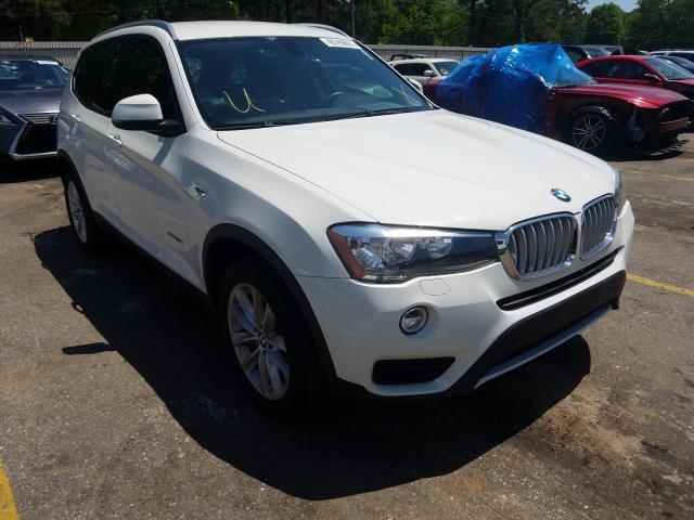 Salvage cars for sale from Copart Eight Mile, AL: 2017 BMW X3 SDRIVE2