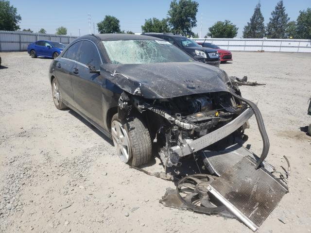 Salvage cars for sale from Copart Sacramento, CA: 2016 Mercedes-Benz CLA 250