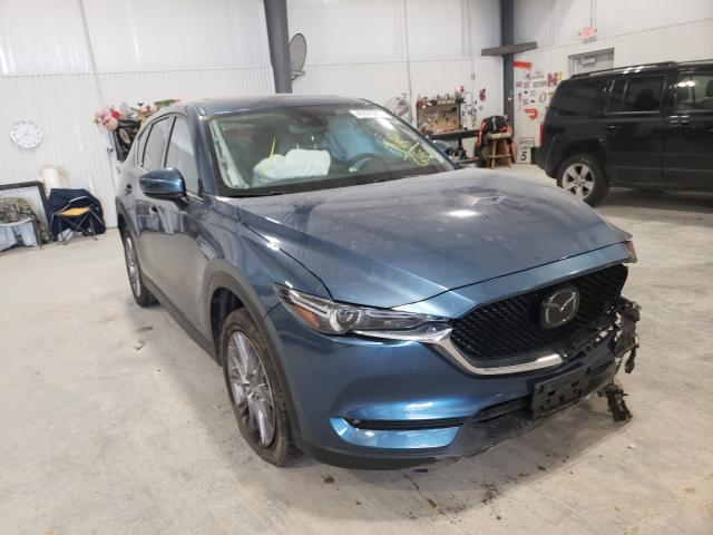 Salvage cars for sale from Copart Greenwood, NE: 2019 Mazda CX-5 Grand Touring