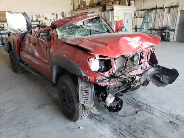 Salvage cars for sale from Copart Savannah, GA: 2014 Toyota Tacoma DOU