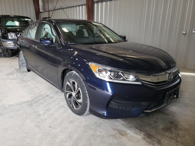 Salvage cars for sale from Copart Appleton, WI: 2016 Honda Accord LX
