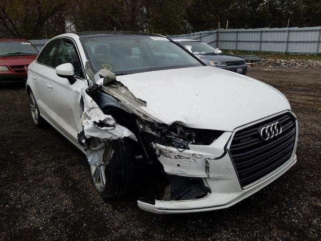Salvage cars for sale from Copart London, ON: 2017 Audi A3