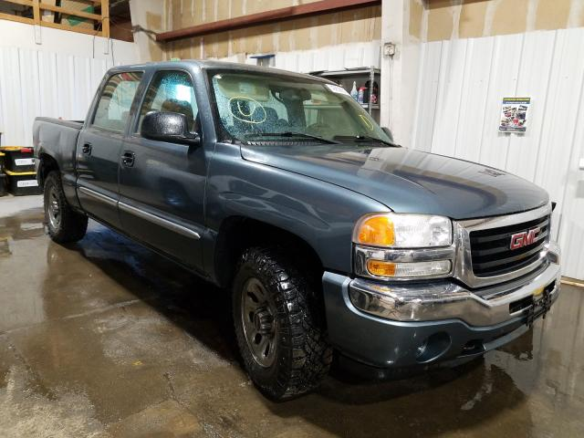 Salvage cars for sale from Copart Anchorage, AK: 2006 GMC New Sierra