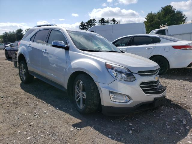 Salvage cars for sale from Copart Finksburg, MD: 2017 Chevrolet Equinox PR