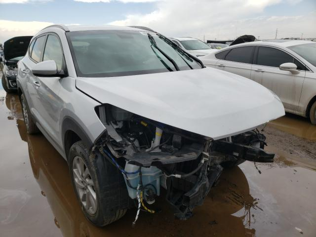 Hyundai salvage cars for sale: 2018 Hyundai Tucson SEL