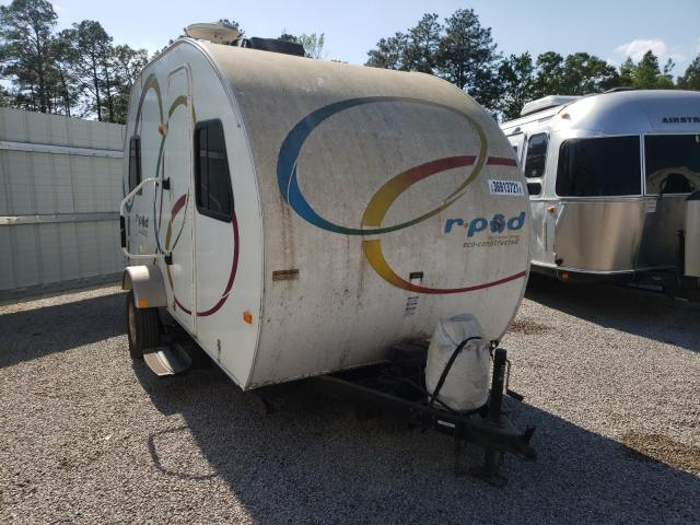 Salvage trucks for sale at Harleyville, SC auction: 2011 Wildwood Rpod