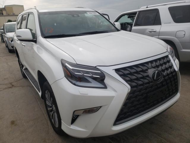 Salvage cars for sale from Copart Tulsa, OK: 2021 Lexus GX 460 LUX