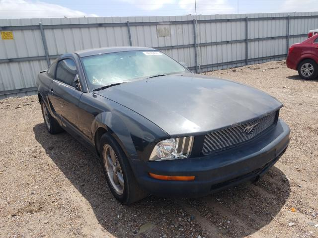 Salvage cars for sale from Copart Mercedes, TX: 2007 Ford Mustang
