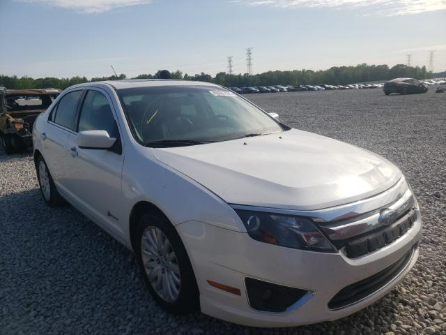 Salvage cars for sale at Memphis, TN auction: 2010 Ford Fusion Hybrid