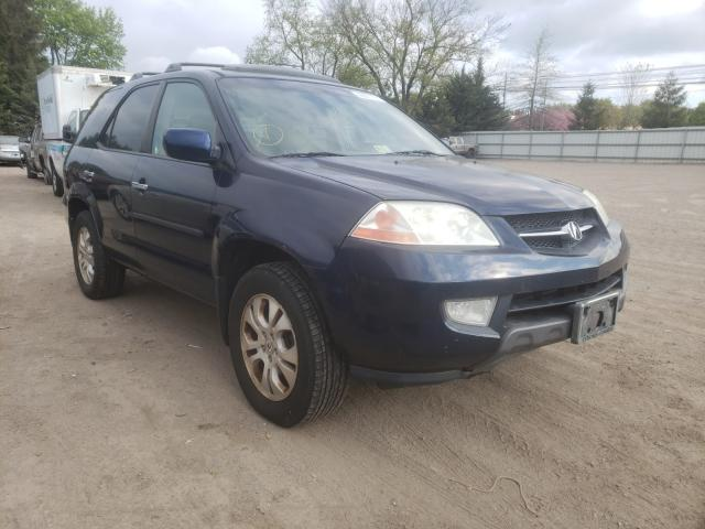 Salvage cars for sale from Copart Finksburg, MD: 2003 Acura MDX Touring