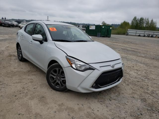 Salvage cars for sale from Copart Arlington, WA: 2019 Toyota Yaris L