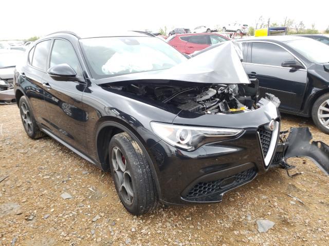 Salvage cars for sale from Copart Bridgeton, MO: 2018 Alfa Romeo Stelvio TI