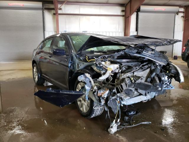 Salvage cars for sale from Copart Lansing, MI: 2014 Chrysler 200 LX